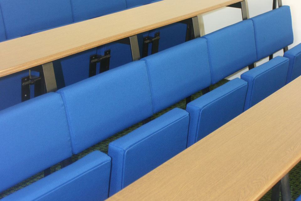 Salford University Seating